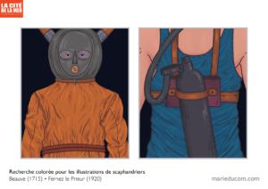 Scaphandres-recherche-couleur-Marie-Ducom-2019